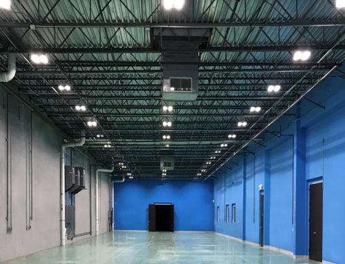 BPM Warehouse Exsabay LEDs