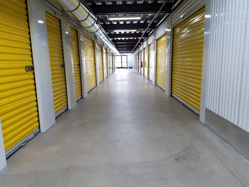 Cube Smart Storage Units - LED Lighting of Houston