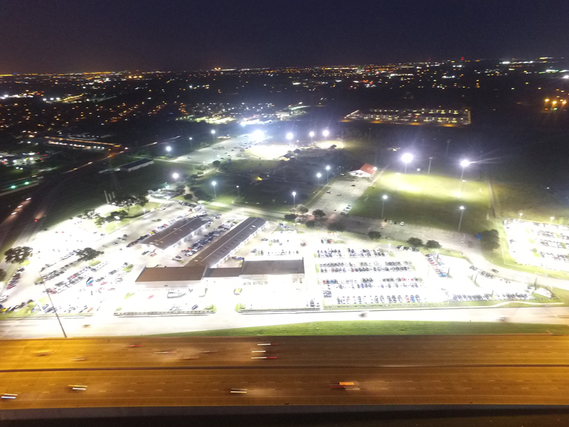 Mak Haik Toyota >> Mac Haik Toyota Parking Lot Led Lighting Of Houston